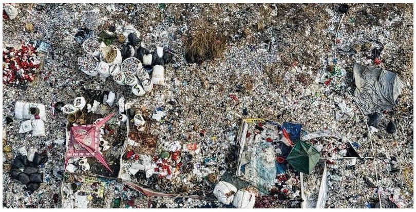 Almería: Retirados más de 50.000 kilos de basura abandonada en el barrio de La Chanca