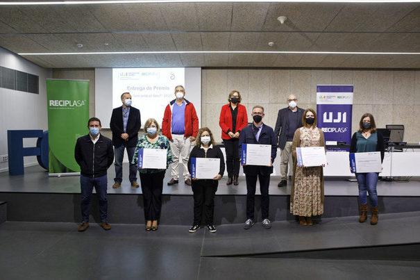 """Castellón: Entregados los Pemios de la Cátedra Reciplasa """"Què fem amb el fem?"""" 2020"""