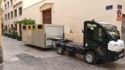 Valencia: Instalados nuevos contenedores de menor impacto paisajístico en Ciutat Vella