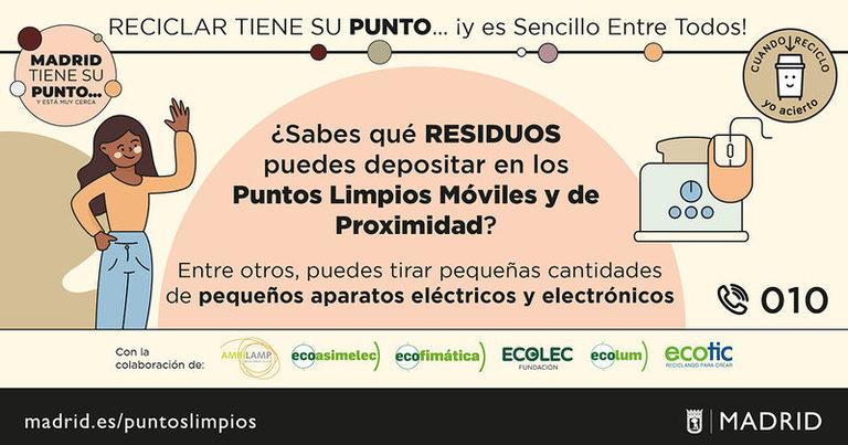 Madrid: Recyclia apoya una campaña para fomentar el reciclaje de RAEE entre los madrileños