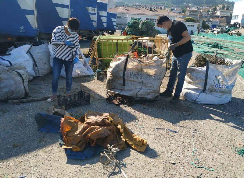 El proyecto RepescaPlas recoge más de 4 toneladas de basuras marinas e inicia su cuarta fase