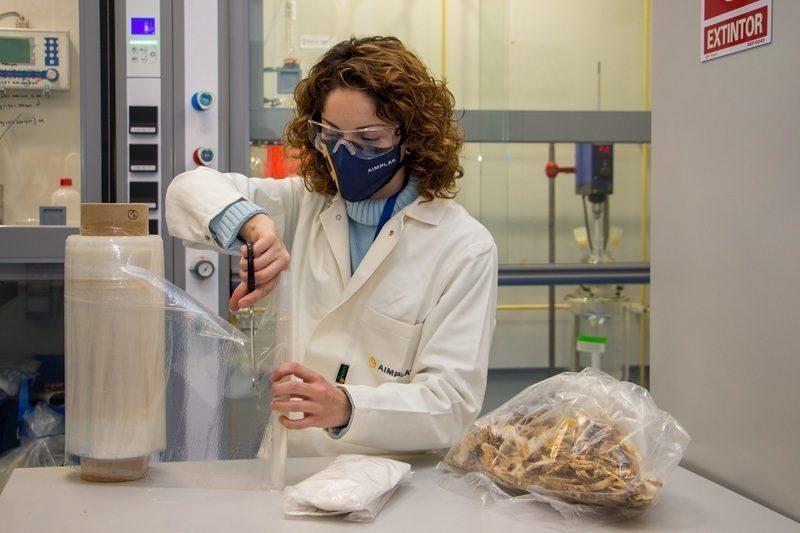 El proyecto europeo DAFIA transforma residuos y subproductos pesqueros en bioplásticos
