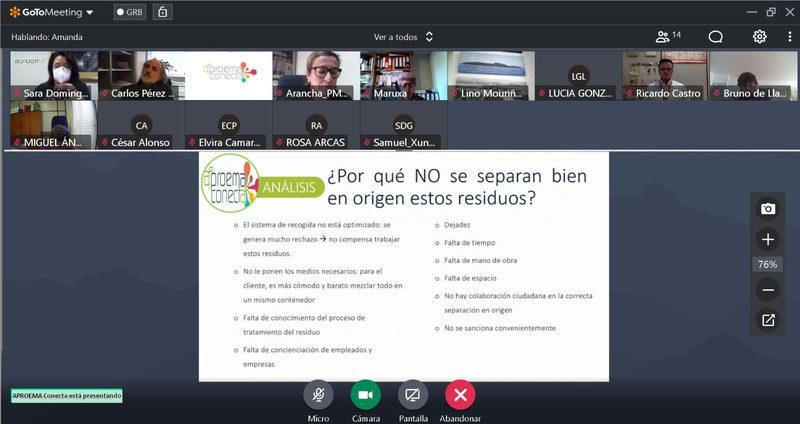 Galicia: Más de 50 empresas apuestan por la Economía Circular con APROEMA Conecta