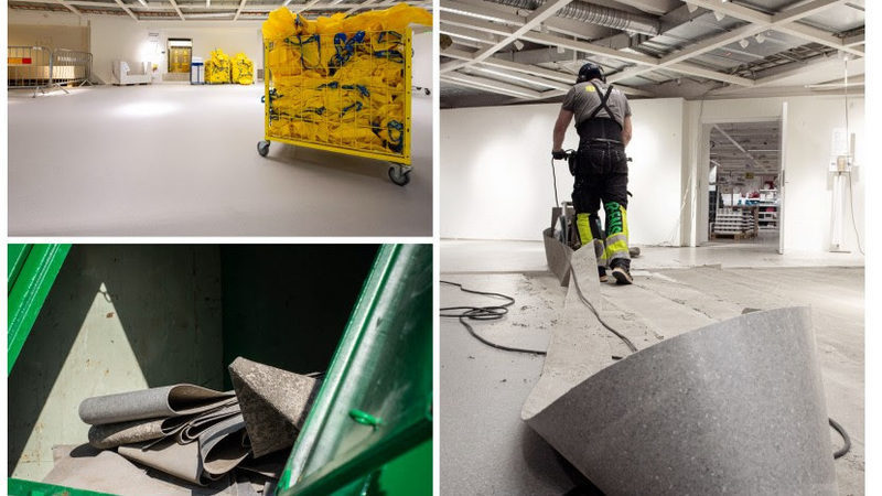 IKEA recupera, recicla y transforma suelos usados para reducir su huella medioambiental