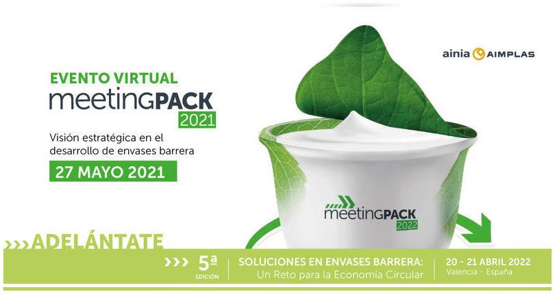 MeetingPack virtual 2021 sobre sostenibilidad y reciclado de envases (27 mayo)