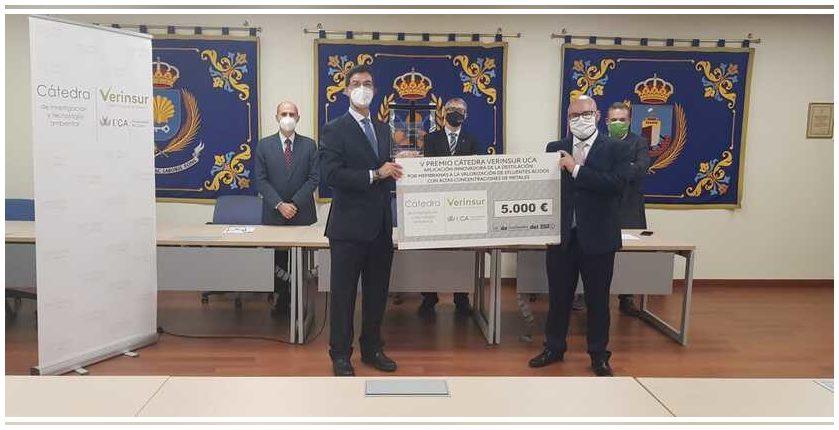 Andalucía: Ampliado a junio el plazo de presentación a los premios Cátedra Verinsur-UCA