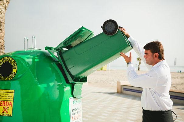 Andalucía: El reciclaje de vidrio en la hostelería de Málaga supera el 80% gracias a la campaña de Ecovidrio