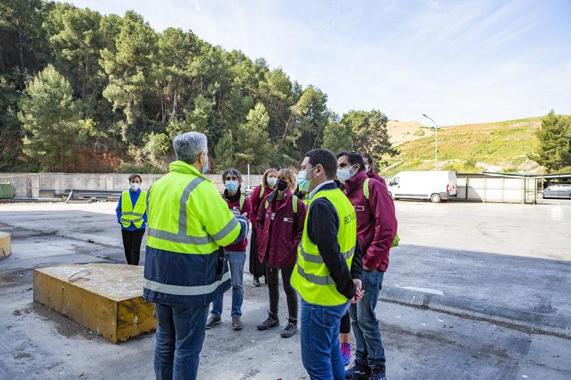 Castelló: Educadores ambientales del Consorcio C2 conocen la gestión de residuos de la zona