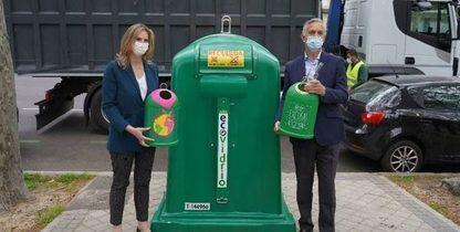 La Comunidad de Madrid es la única donde ha subido el reciclaje de vidrio en 2020