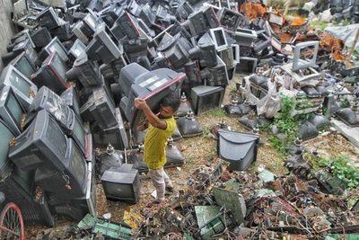 La ONU advierte que la basura electrónica podría duplicarse en 2050