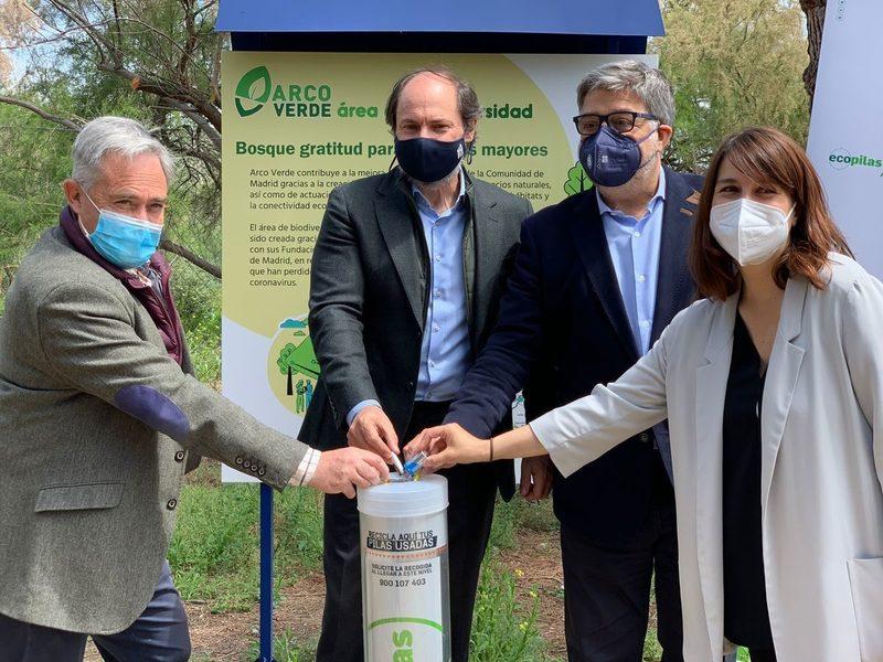 Madrid: Una campaña permite reforestar una zona de alto valor biológico a través del reciclaje de RAEE y pilas