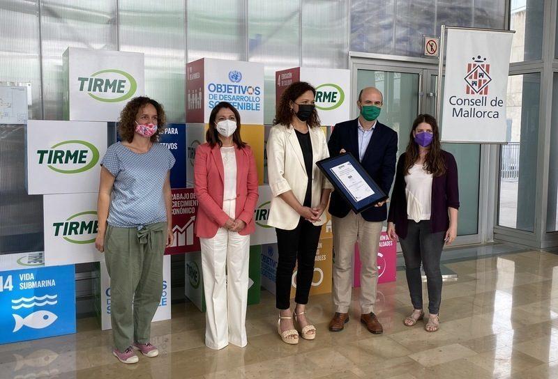 Baleares: La estrategia de economía circular de TIRME en Mallorca obtiene el sello de AENOR