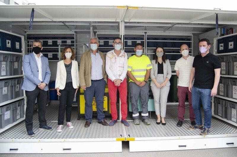 Castellón: En funcionamiento el primer ecoparque móvil del consorcio C2 de residuos