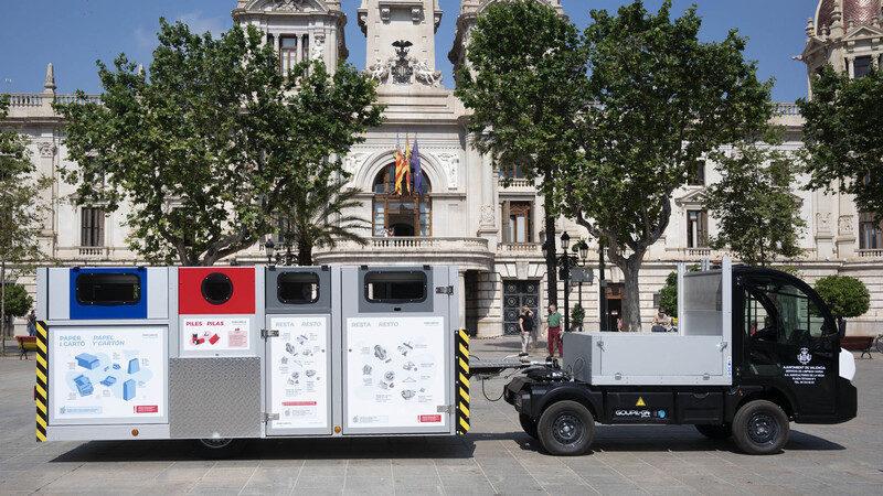 Valencia: Una parte de los contenedores de Ciutat Vella serán sustituidos por plataformas móviles