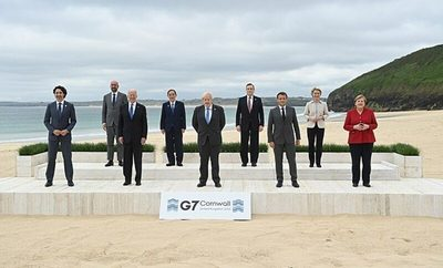 El G7 se compromete en Cornualles a incrementar su esfuerzo climático