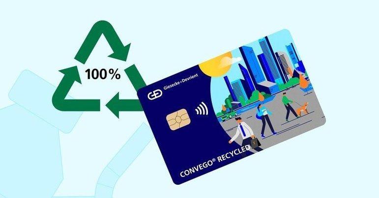 BBVA distribuye en España tarjetas fabricadas con PVC íntegramente reciclado