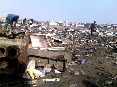 Desarticulada en Andalucía una red que exportaba residuos tóxicos a África
