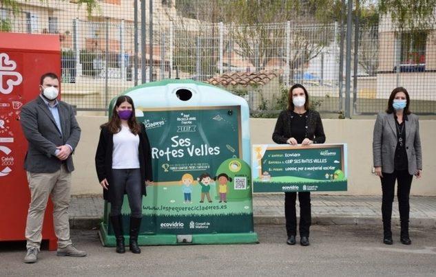 """Baleares: Entregados los premios del concurso """"Los Peques Recicladores"""" en colaboración con Ecovidrio"""