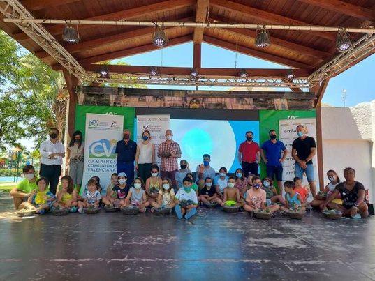 Valencia: ERP pone en marcha una campaña para fomentar el reciclaje de RAEE en cámpings
