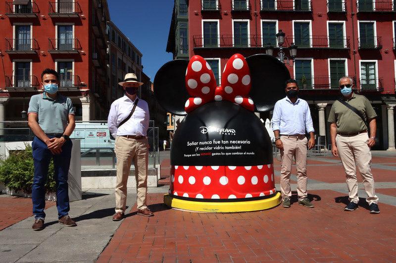 Castilla y León: En marcha una campaña con iconos Disney para reciclar vidrio en Valladolid