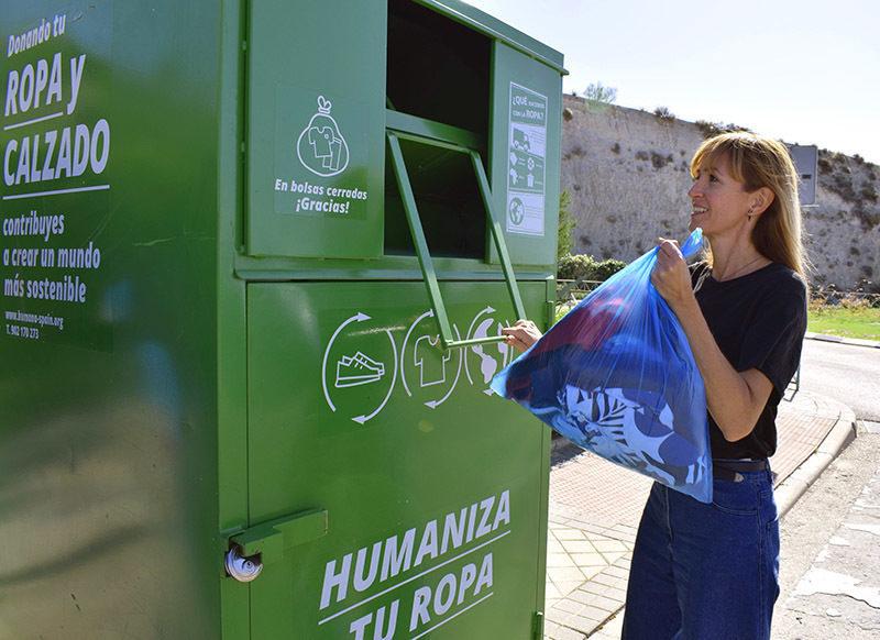 Humana registra un aumento del 23% en recogida de residuo textil en el primer semestre de 2021