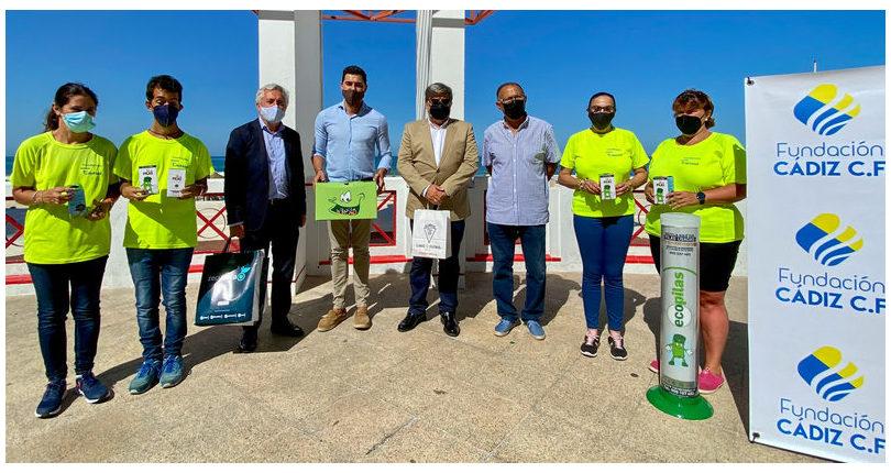 Andalucía: Ecopilas y la Fundación Cádiz C.F. fomentarán el reciclaje de pilas en las playas de la provincia