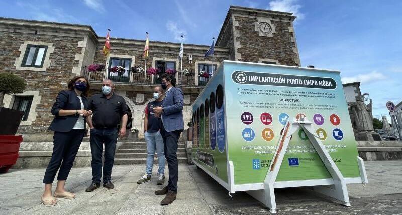 Galicia: Convocada una ayuda para adquisición de puntos limpios móviles municipales