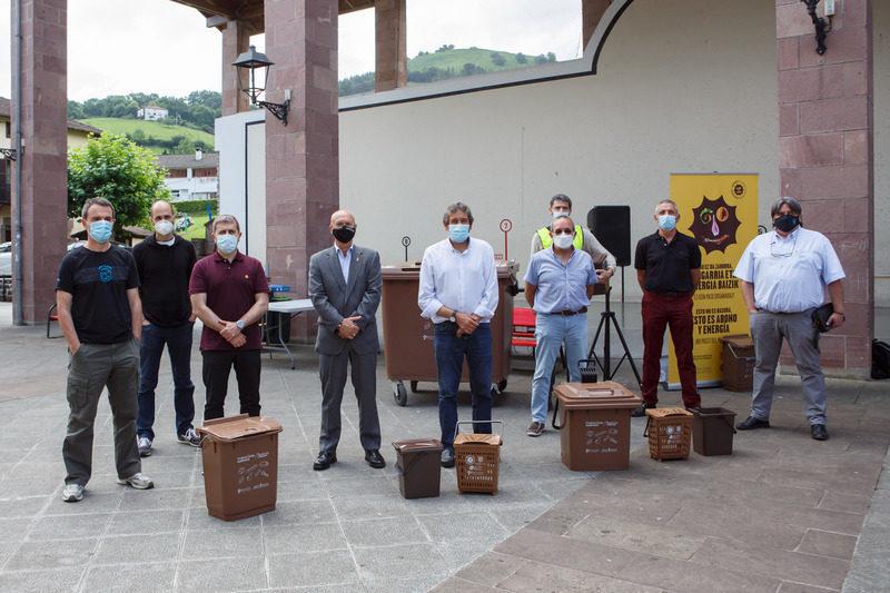 Navarra: La Comarca de Cinco Villas dispone ya de quinto contenedor para biorresiduos
