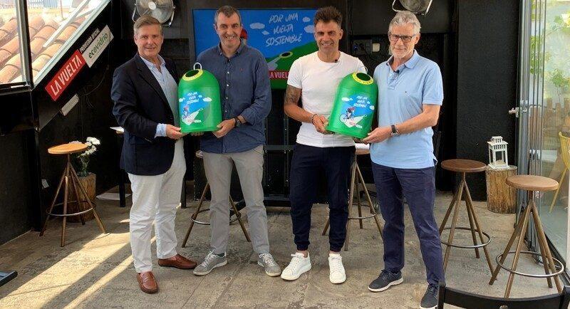Ecovidrio y Unipublic presentan una nueva edición de La Vuelta apostando por la sostenibilidad