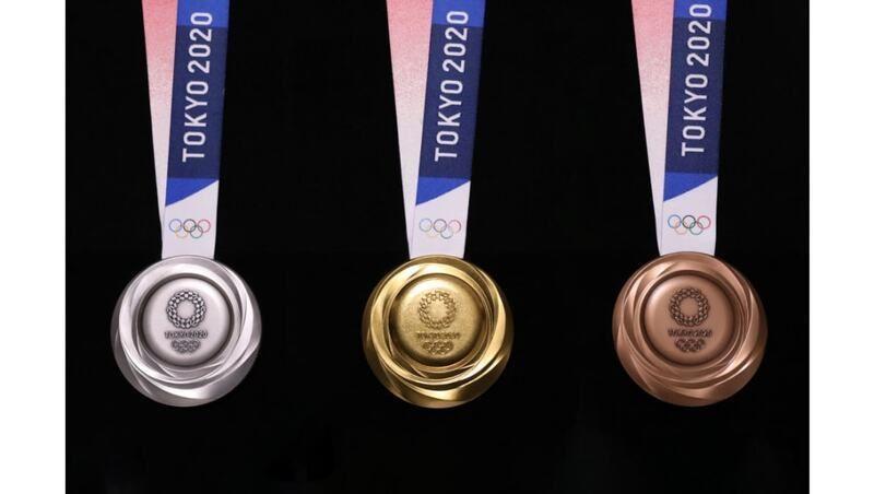 Las medallas de los Juegos de Tokio llevan metales reciclados de basura electrónica