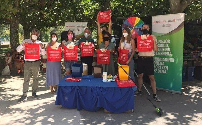 Navarra: 34 localidades participan en la campaña de reducción de residuos en mercadillos municipales