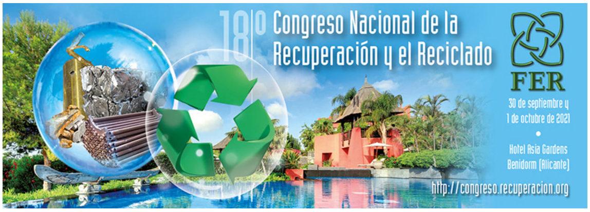 El 18º Congreso de la Recuperación y el Reciclado batirá su registro histórico de inscripciones