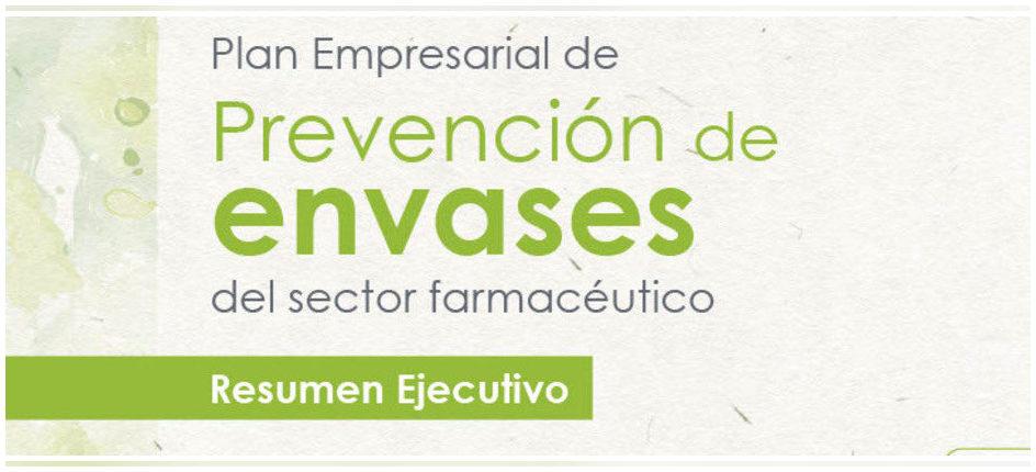 Presentado el Plan Empresarial de Prevención de Envases del sector farmacéutico 2021-2023