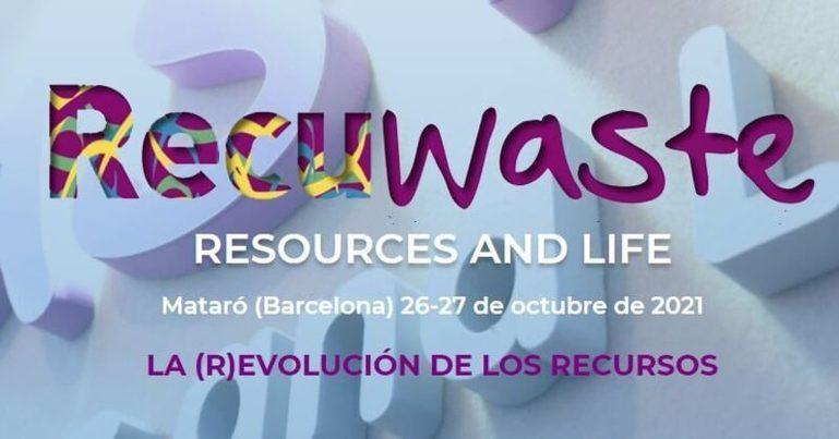 Abierto plazo de inscripción para RECUWASTE 2021 (26 y 27 octubre)