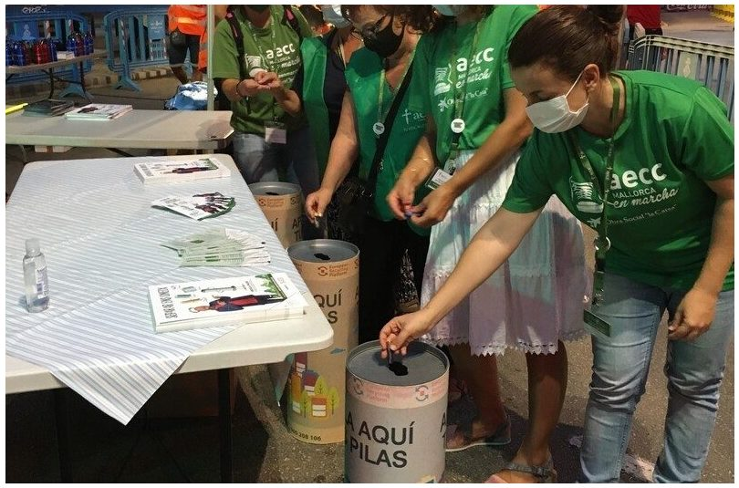 Baleares: ERP acerca el reciclaje de pilas a la popular marcha Des Güell a Lluc a Peu en Mallorca