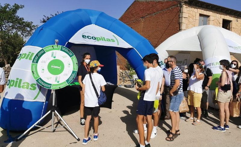 El regreso de público a la última edición de la Vuelta a España permite reciclar 1.300 kilos de pilas usadas