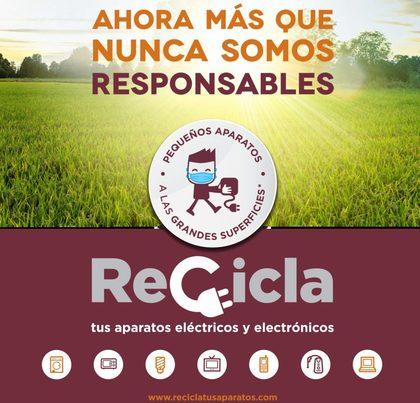 """Valencia: Reiniciada la campaña """"Recicla tus aparatos"""" para concienciar sobre RAEE"""