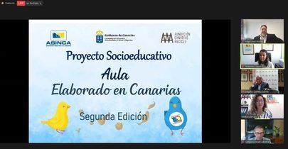 Canarias: El Aula Elaborado en Canarias premia la sostenibilidad de los centros educativos de las islas